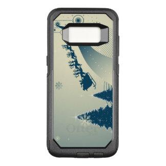 Capa OtterBox Commuter Para Samsung Galaxy S8 Estrada do Pólo Norte