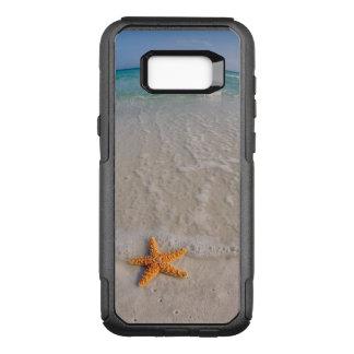 Capa OtterBox Commuter Para Samsung Galaxy S8+ Estrela do mar na praia