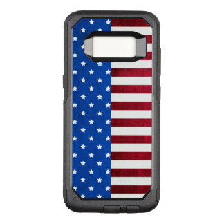 Capa OtterBox Commuter Para Samsung Galaxy S8 Estrelas e bandeira Listra-Americana por Shirley