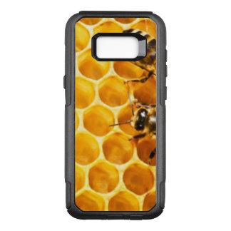 Capa OtterBox Commuter Para Samsung Galaxy S8+ Favo de mel e design do teste padrão das abelhas