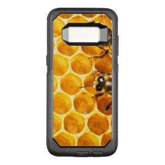 Capa OtterBox Commuter Para Samsung Galaxy S8 Favo de mel e design do teste padrão das abelhas