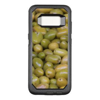 Capa OtterBox Commuter Para Samsung Galaxy S8 Feche acima das azeitonas verdes