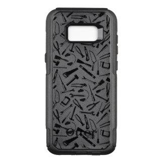 Capa OtterBox Commuter Para Samsung Galaxy S8+ Ferramentas pretas do teste padrão