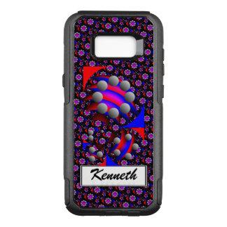 "Capa OtterBox Commuter Para Samsung Galaxy S8+ Fibonacci dos ""preto peixes"" por Kenneth Yoncich"
