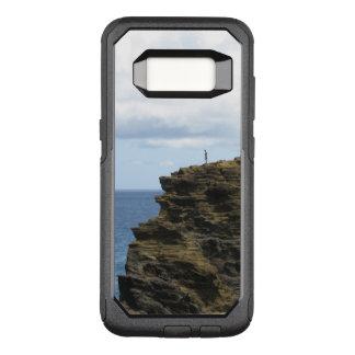 Capa OtterBox Commuter Para Samsung Galaxy S8 Figura solitário em um penhasco