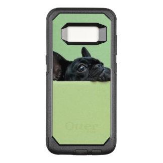 Capa OtterBox Commuter Para Samsung Galaxy S8 Filhote de cachorro do buldogue francês que