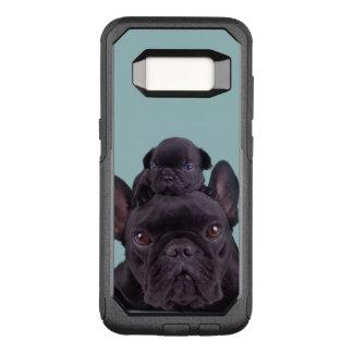 Capa OtterBox Commuter Para Samsung Galaxy S8 Filhote de cachorro na cabeça de sua mãe