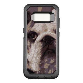 Capa OtterBox Commuter Para Samsung Galaxy S8 Fim do buldogue