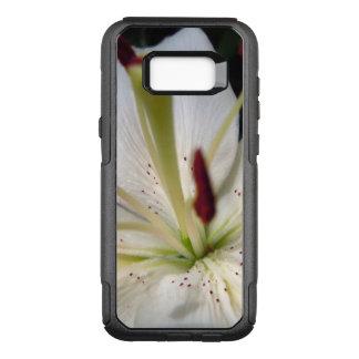 Capa OtterBox Commuter Para Samsung Galaxy S8+ Fim macio do lírio branco acima