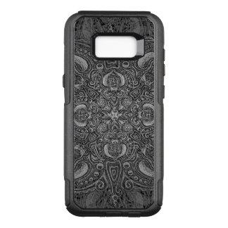 Capa OtterBox Commuter Para Samsung Galaxy S8+ Fleury de prata