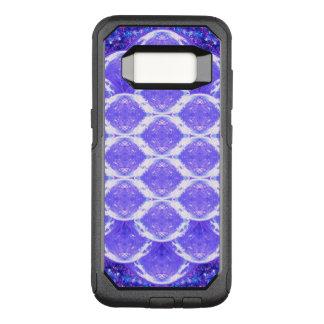 Capa OtterBox Commuter Para Samsung Galaxy S8 Flor da grade do cristal da vida