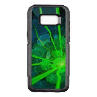 Capa OtterBox Commuter Para Samsung Galaxy S8+ Flor subaquática bonita do Fractal de Atlantis