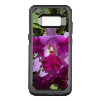 Capa OtterBox Commuter Para Samsung Galaxy S8 Flor tropical da orquídea de Cattleya