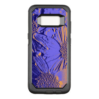 Capa OtterBox Commuter Para Samsung Galaxy S8 Flores 2 do abstrato