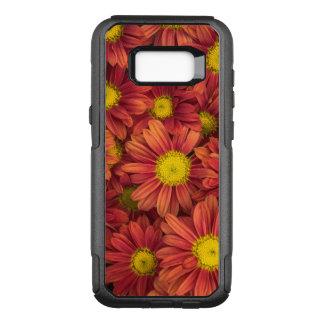 Capa OtterBox Commuter Para Samsung Galaxy S8+ Flores alaranjadas