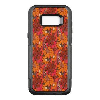 Capa OtterBox Commuter Para Samsung Galaxy S8+ Flores Groovy de Falln
