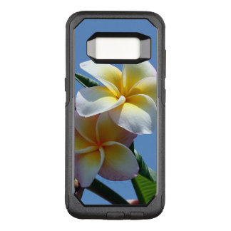 Capa OtterBox Commuter Para Samsung Galaxy S8 Flores Showy do Frangipani do Plumeria