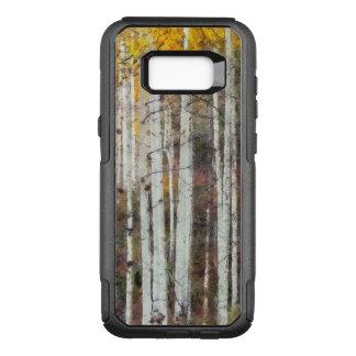 Capa OtterBox Commuter Para Samsung Galaxy S8+ Floresta enevoada do vidoeiro