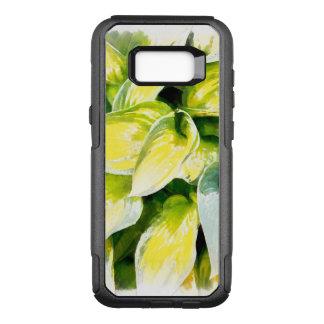Capa OtterBox Commuter Para Samsung Galaxy S8+ Folha verde