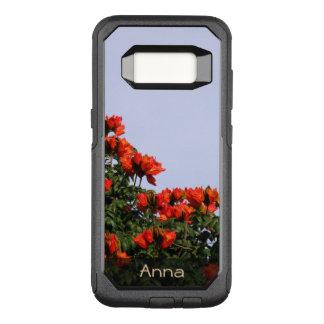 Capa OtterBox Commuter Para Samsung Galaxy S8 Foto africana botânica da árvore de tulipa algum