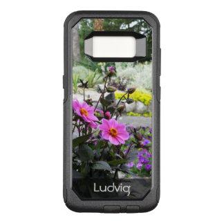 Capa OtterBox Commuter Para Samsung Galaxy S8 Foto bonita do parque das flores algum texto