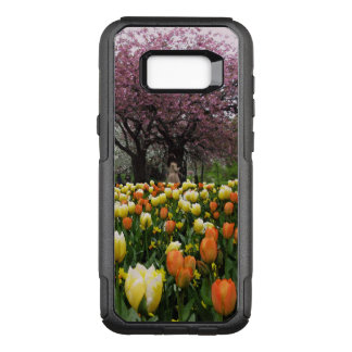 Capa OtterBox Commuter Para Samsung Galaxy S8+ Foto das árvores da flor do parque do primavera