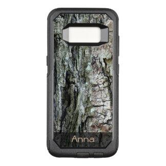 Capa OtterBox Commuter Para Samsung Galaxy S8 Foto velha do latido do pinho da natureza algum