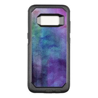 Capa OtterBox Commuter Para Samsung Galaxy S8 fundo abstrato da aguarela da arte no papel 2