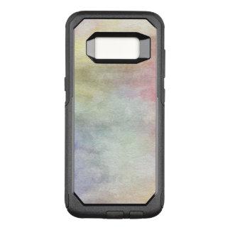 Capa OtterBox Commuter Para Samsung Galaxy S8 fundo abstrato da aguarela da arte no papel 3