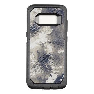 Capa OtterBox Commuter Para Samsung Galaxy S8 Fundo abstrato do grunge. Aguarela, tinta