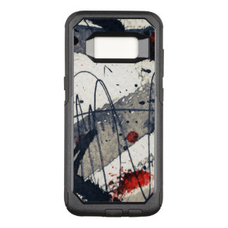 Capa OtterBox Commuter Para Samsung Galaxy S8 Fundo abstrato do grunge, textura da tinta