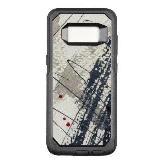 Capa OtterBox Commuter Para Samsung Galaxy S8 Fundo abstrato do grunge, textura da tinta. 2