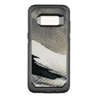 Capa OtterBox Commuter Para Samsung Galaxy S8 Fundo abstrato do grunge, textura da tinta. 4