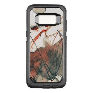 Capa OtterBox Commuter Para Samsung Galaxy S8 Fundo abstrato do grunge, textura da tinta. 5