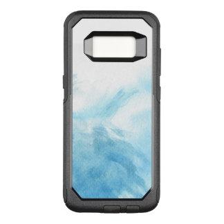 Capa OtterBox Commuter Para Samsung Galaxy S8 fundo colorido da aguarela para o seu