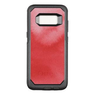 Capa OtterBox Commuter Para Samsung Galaxy S8 fundo colorido da aguarela para seus 3