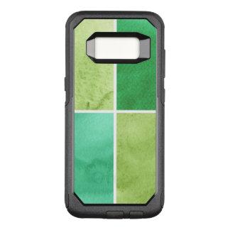 Capa OtterBox Commuter Para Samsung Galaxy S8 fundo colorido da aguarela para seus 6