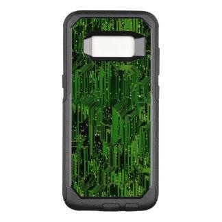Capa OtterBox Commuter Para Samsung Galaxy S8 Fundo do conselho de circuito