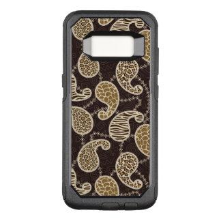 Capa OtterBox Commuter Para Samsung Galaxy S8 Fundo do estilo de Paisley