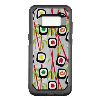 Capa OtterBox Commuter Para Samsung Galaxy S8 Fundo do sushi