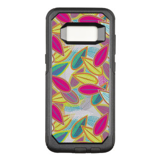 Capa OtterBox Commuter Para Samsung Galaxy S8 Fundo floral claro