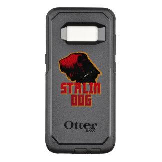 Capa OtterBox Commuter Para Samsung Galaxy S8 Galáxia S8 de Samsung, cão de stalin