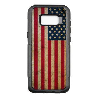 Capa OtterBox Commuter Para Samsung Galaxy S8+ Galáxia S8 de Samsung da bandeira americana do