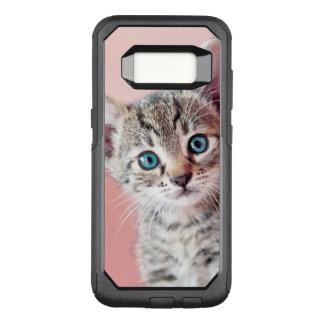 Capa OtterBox Commuter Para Samsung Galaxy S8 Gatinho bonito com olhos azuis