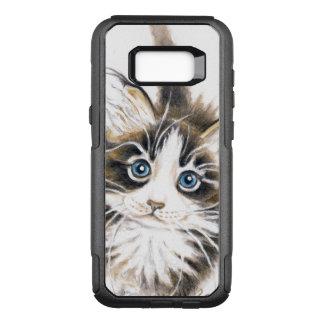 Capa OtterBox Commuter Para Samsung Galaxy S8+ Gatinho bonito do racum de Maine