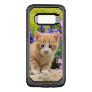 Capa OtterBox Commuter Para Samsung Galaxy S8 Gatinho macio bonito do gato do bebê do gengibre