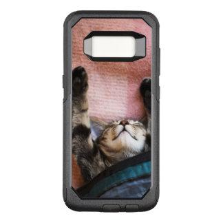 Capa OtterBox Commuter Para Samsung Galaxy S8 Gatinho Snoozing