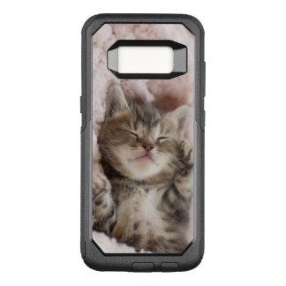 Capa OtterBox Commuter Para Samsung Galaxy S8 Gatinho sonolento