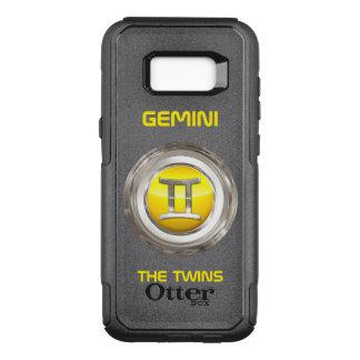 Capa OtterBox Commuter Para Samsung Galaxy S8+ Gêmeos - o sinal do horóscopo dos gêmeos