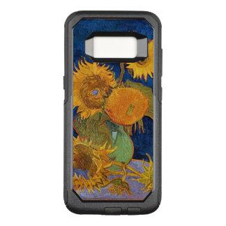 Capa OtterBox Commuter Para Samsung Galaxy S8 Girassóis de Van Gogh